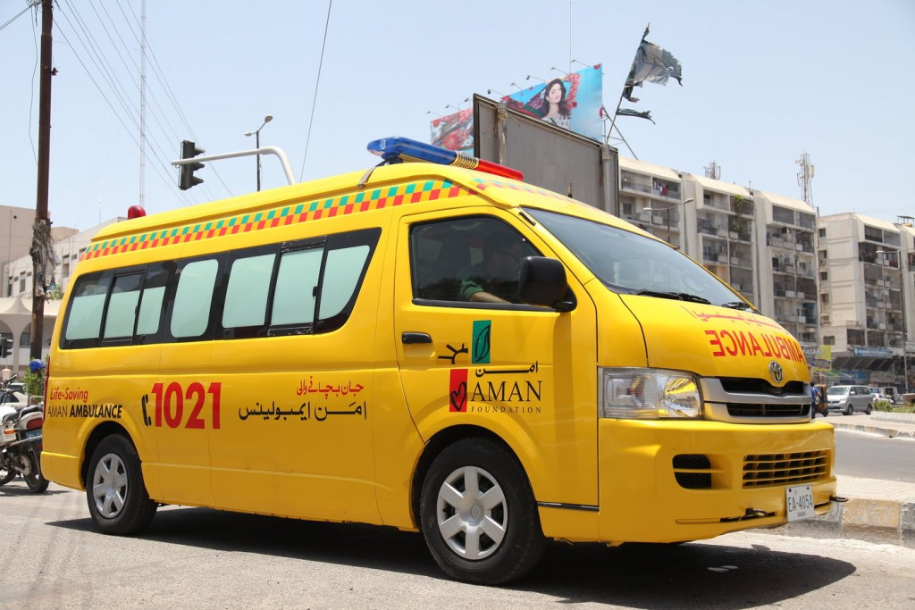 <span>Sindh Rescue and Medical Services</span>